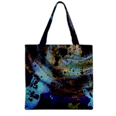 Blue Options 3 Grocery Tote Bag by bestdesignintheworld