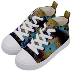 Blue Options 5 Kid s Mid-top Canvas Sneakers by bestdesignintheworld