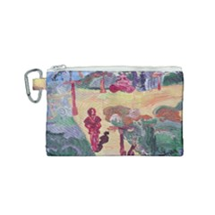 Trail Canvas Cosmetic Bag (small) by bestdesignintheworld