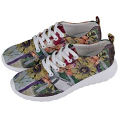 Sunflowers And Lamp Men s Lightweight Sports Shoes by bestdesignintheworld