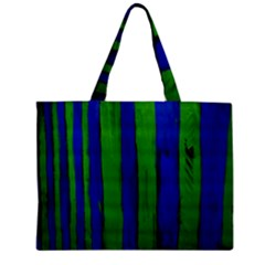 Stripes Zipper Mini Tote Bag by bestdesignintheworld