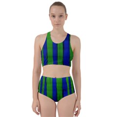 Stripes Racer Back Bikini Set by bestdesignintheworld