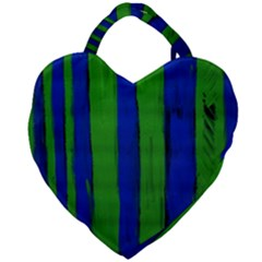 Stripes Giant Heart Shaped Tote by bestdesignintheworld