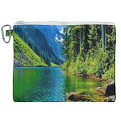 Beautiful Nature Lake Canvas Cosmetic Bag (xxl) by Modern2018