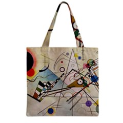 Composition 8   Vasily Kandinsky Grocery Tote Bag