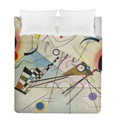 Composition 8   Vasily Kandinsky Duvet Cover Double Side (full/ Double Size) by Valentinaart