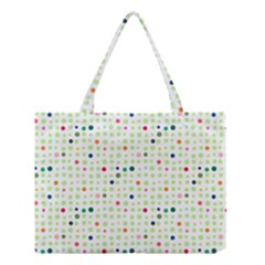 Dotted Pattern Background Full Colour Medium Tote Bag by Modern2018
