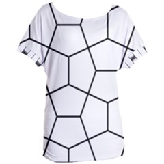 Cairo Tessellation Simple Women s Oversized Tee by goodart