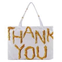 Thank You French Fries Zipper Medium Tote Bag