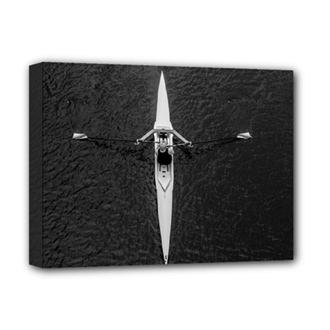 Rower Deluxe Canvas 16  X 12   by goodart