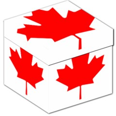 Flag Of Canada Storage Stool 12   by goodart
