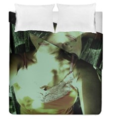 Selfy In A Shades Duvet Cover Double Side (queen Size)