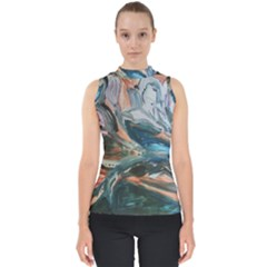 Night Lillies Shell Top