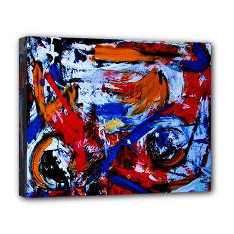 Mixed Feelings Deluxe Canvas 20  X 16   by bestdesignintheworld