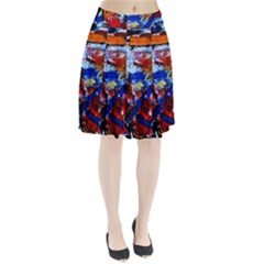 Mixed Feelings Pleated Skirt by bestdesignintheworld