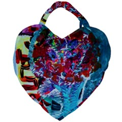 Meet Me In Osaka Giant Heart Shaped Tote by bestdesignintheworld