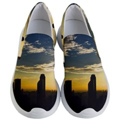 Skyline Sunset Buildings Cityscape Women s Lightweight Slip Ons