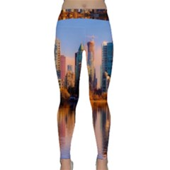 Vancouver Canada Sea Ocean Classic Yoga Leggings by Simbadda