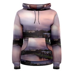 Sunset Melbourne Yarra River Women s Pullover Hoodie