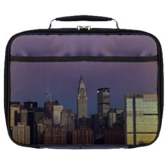 Skyline City Manhattan New York Full Print Lunch Bag