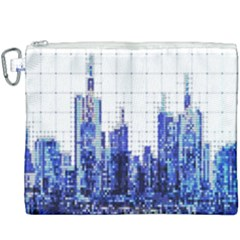 Skyscrapers City Skyscraper Zirkel Canvas Cosmetic Bag (xxxl) by Simbadda