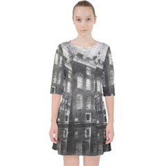 Reflection Canal Water Street Pocket Dress