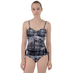 Reflection Canal Water Street Sweetheart Tankini Set