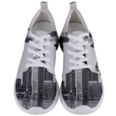 Architecture City Skyscraper Men s Lightweight Sports Shoes