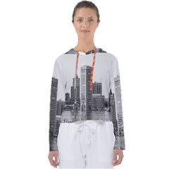 Architecture City Skyscraper Women s Slouchy Sweat