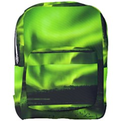 Aurora Borealis Northern Lights Sky Full Print Backpack