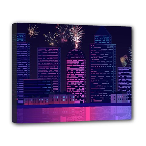 Architecture Home Skyscraper Deluxe Canvas 20  X 16
