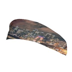 Cityscape Night Buildings Stretchable Headband