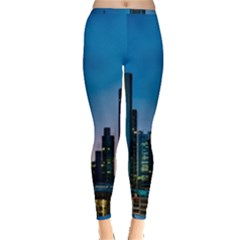 Frankfurt Germany Panorama City Inside Out Leggings