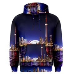 Toronto City Cn Tower Skydome Men s Pullover Hoodie