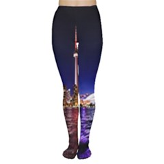 Toronto City Cn Tower Skydome Women s Tights