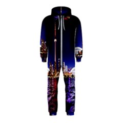 Toronto City Cn Tower Skydome Hooded Jumpsuit (Kids)