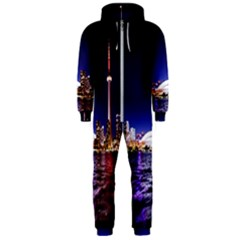 Toronto City Cn Tower Skydome Hooded Jumpsuit (Men)