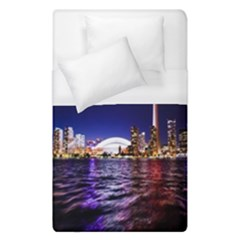 Toronto City Cn Tower Skydome Duvet Cover (Single Size)