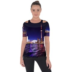 Toronto City Cn Tower Skydome Short Sleeve Top