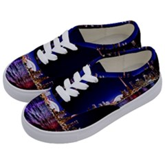 Toronto City Cn Tower Skydome Kids  Classic Low Top Sneakers