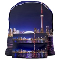 Toronto City Cn Tower Skydome Giant Full Print Backpack