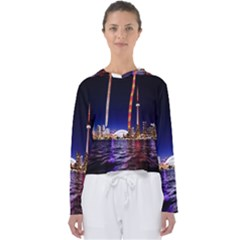 Toronto City Cn Tower Skydome Women s Slouchy Sweat