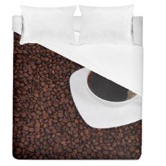 Coffee Duvet Cover (queen Size)