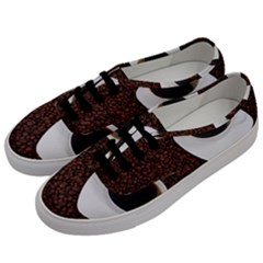 Coffee Men s Classic Low Top Sneakers by goodart