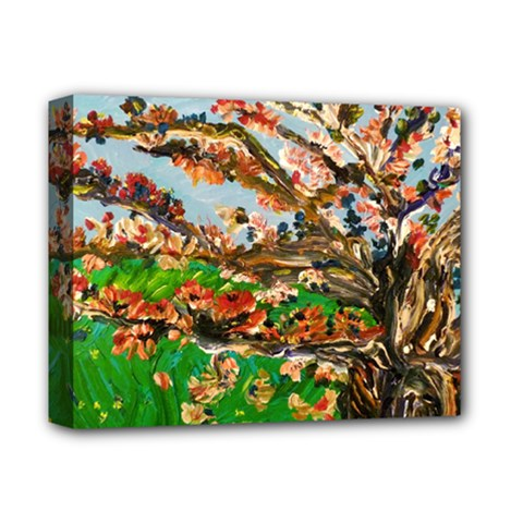 Coral Tree Deluxe Canvas 14  X 11  by bestdesignintheworld