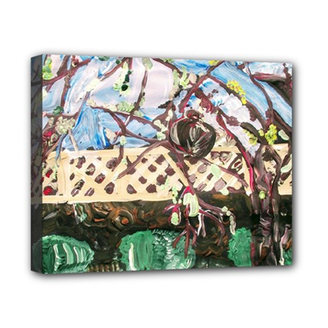Blooming Tree 2 Canvas 10  X 8  by bestdesignintheworld