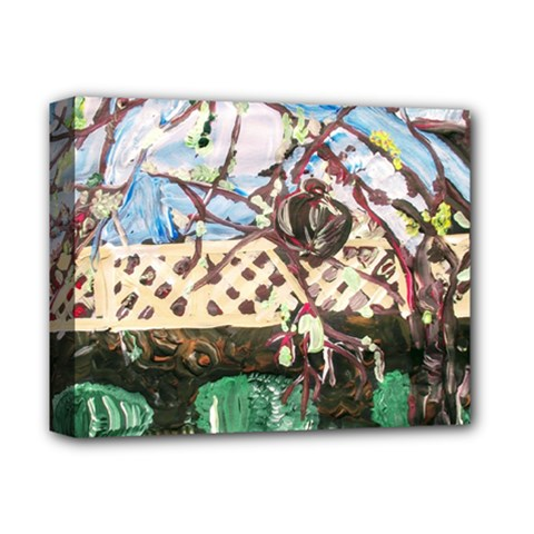 Blooming Tree 2 Deluxe Canvas 14  X 11  by bestdesignintheworld