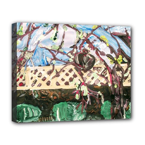 Blooming Tree 2 Deluxe Canvas 20  X 16   by bestdesignintheworld