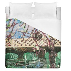 Blooming Tree 2 Duvet Cover (queen Size) by bestdesignintheworld