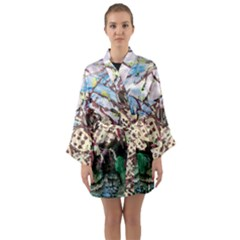 Blooming Tree 2 Long Sleeve Kimono Robe by bestdesignintheworld